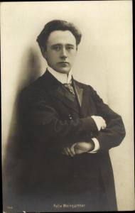 Ak Komponist Felix Weingartner