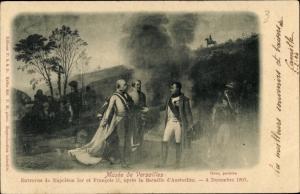 Künstler Ak Schlacht von Austerlitz, Napoleon, Musee de Versailles
