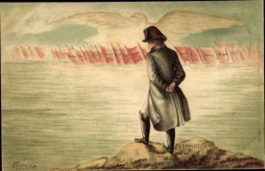 Künstler Litho Fourquier, Napoleon Bonaparte, Kaiser Napoleon I.