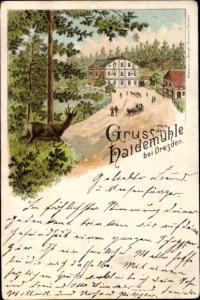Litho Dresden Langebrück, Haidemühle