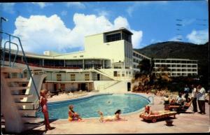 Ak Saint Thomas Amerikanische Jungferninseln, The Virgin Isle Hotel, Schwimmbad