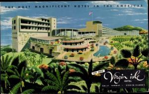 Ak Saint Thomas Amerikanische Jungferninseln, The Virgin Isle Hotel, Außenansicht