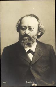 Ak Komponist Max Bruch