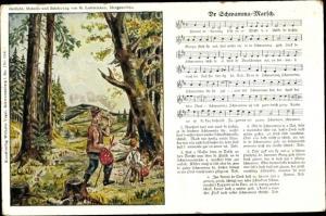 Lied Ak Dr Schwamma Marsch, G. Lattermann, Wilhelm Vogel