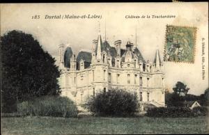 Ak Durtal Maine et Loire, Chateau de la Touchardiere