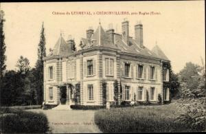 Ak Chéronvilliers Eure, Chateau du Lesmeval