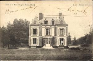 Ak Bourth Eure, Chateau du Lesmeval