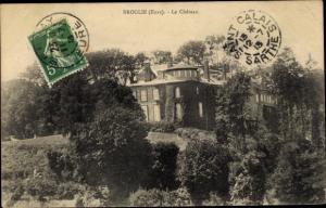 Ak Broglie Eure, Le Chateau
