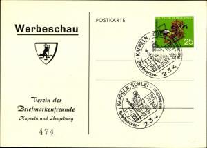 Ak Kappeln an der Schlei, Verein der Briefmarkenfreunde, Werbeschau