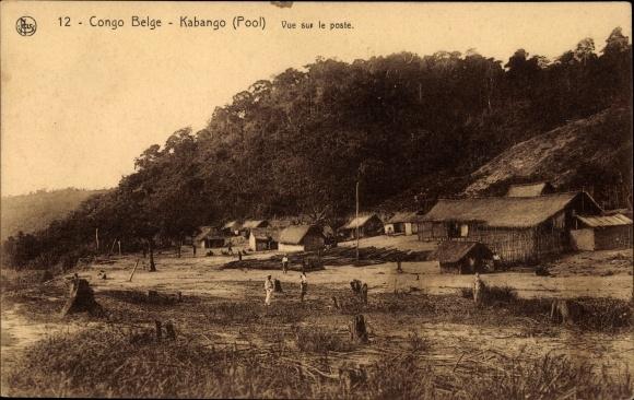 Ak Kabango DR Kongo Zaire, Vue sur le poste 0