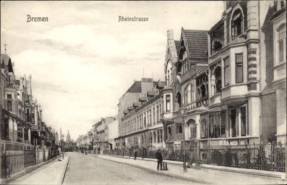 Ak Hansestadt Bremen, Rheinstraße 0