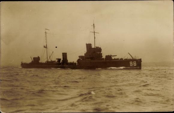 Foto Ak Deutsches Kriegsschiff, 96 0