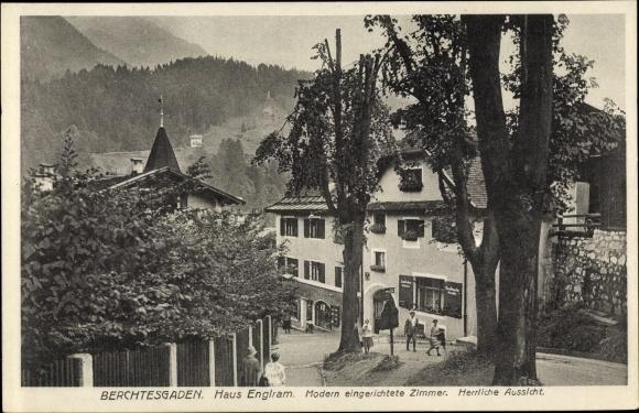 Ak Berchtesgaden in Oberbayern, Pension Haus Englram 0
