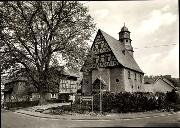 Ak Baunatal im Landkreis Kassel, Kirche 0