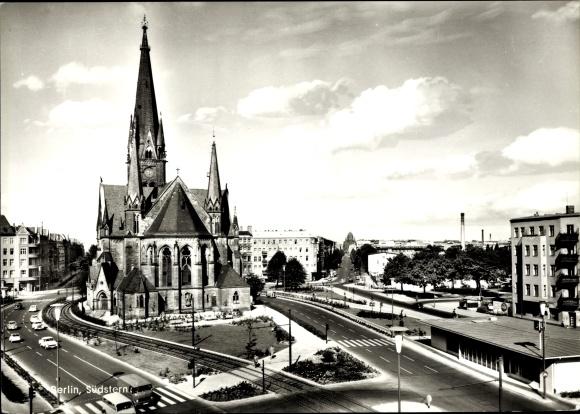 Ak Berlin Kreuzberg, Südstern, Kirche 0