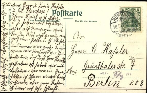 Ak Hansestadt Rostock, Patriotischer Weg 1