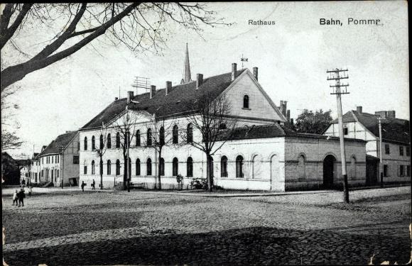 Banie Bahn Pommern, Rathaus 0