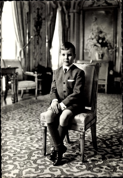 Ak SAS le Prince Albert, Albert von Monaco, Portrait 0