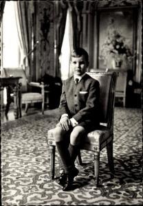 Ak SAS le Prince Albert, Albert von Monaco, Portrait