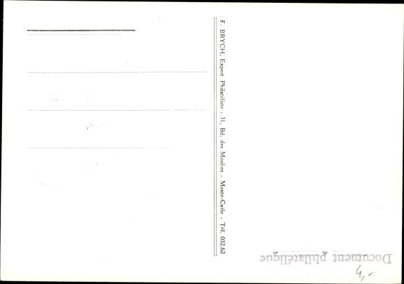 Briefmarken Ak Monte Carlo Monaco, Princesse Grace de Monaco, Grace Kelly 1