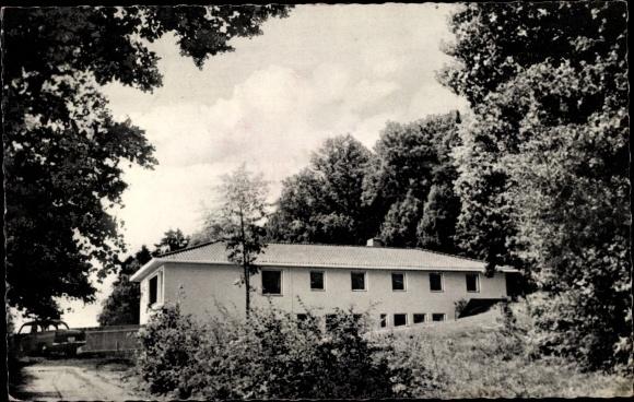 Ak Rhönblick Meiningen Thüringen, Diätkurheim, Außenansicht 0