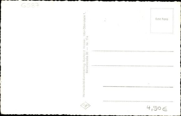 Ak Baumholder im Westrich, Alleestraße, Theater, Kirche, Edingersmühle, Kaserne 1