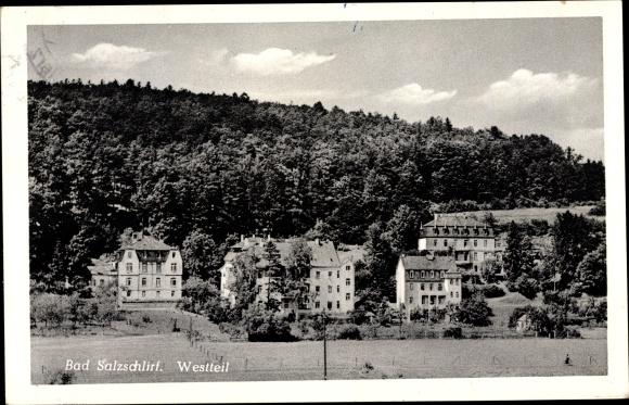 Ak Bad Salzschlirf in Hessen, Westteil 0