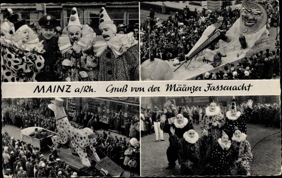 Ak Mainz am Rhein, Mainzer Fastnacht 0