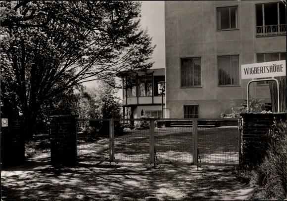 Ak Bad Hersfeld Hessen, Sanatorum Wigbertshöhe, Außenansicht 0