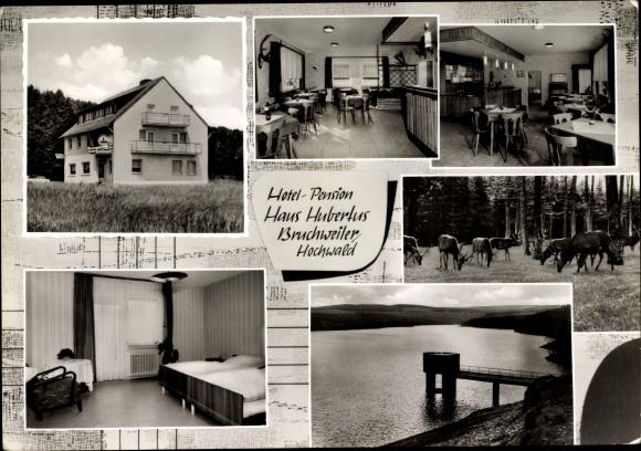 Ak Bruchweiler im Hochwald, Hotel Pension Haus Hubertus 0