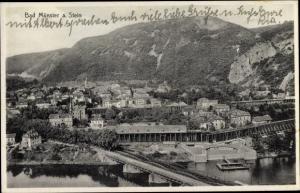 Ak Bad Münster am Stein Ebernburg, Gesamtansicht