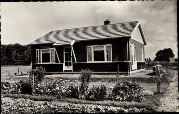 Ak Lunteren Ede Gelderland, Fa. Modderkolk-Brouwer, Alle houtbouw 0