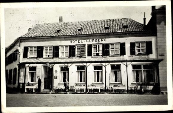 Ak 's Heerenberg Montferland Gelderland Niederlande, Hotel Cafe Restaurant Burgers 0