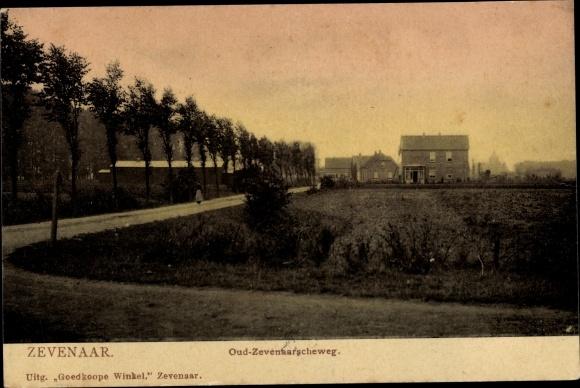 Ak Zevenaar Gelderland Niederlande, Oud Zevenaarscheweg 0