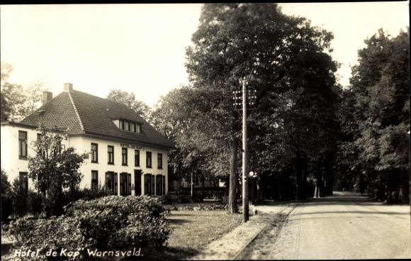 Foto Ak Warnsveld Gelderland Niederlande, Hotel de Kap 0