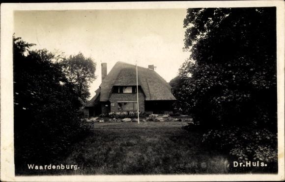 Foto Ak Waardenburg Gelderland Niederlande, Dr. Huis 0