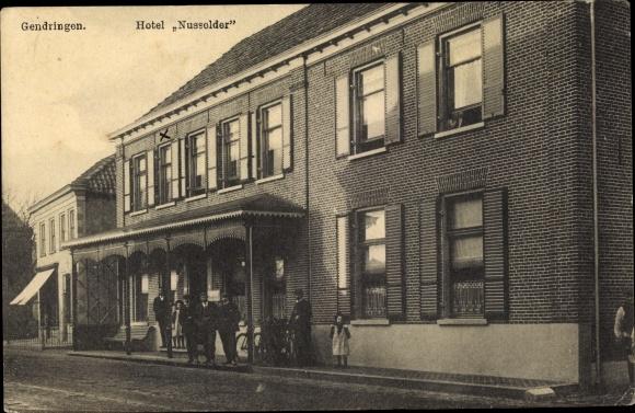 Ak Gendringen Gelderland, Hotel Nussolder 0