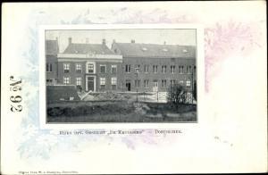 Passepartout Ak Doetinchem Gelderland, De Kruisberg, Rijks Opv. Gesticht