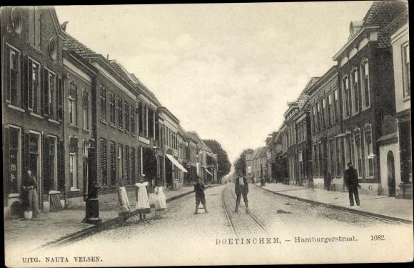 Ak Doetinchem Gelderland, Hamburgerstraat 0