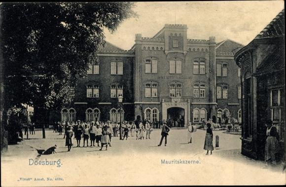 Ak Doesburg Gelderland Niederlande, Mauritskazerne, Kaserne 0