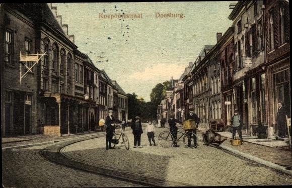 Ak Doesburg Gelderland Niederlande, Koepoortstraat 0