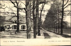 Ak Doorwerth Gelderland, Hotel de Zalmen