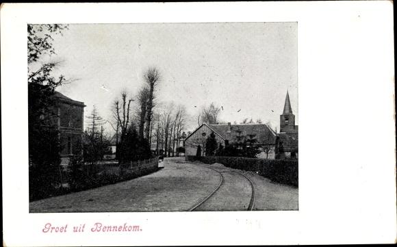 Ak Bennekom Gelderland, Straat 0