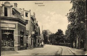 Ak Bennekom Gelderland, Dorpsstraat, Magazijn