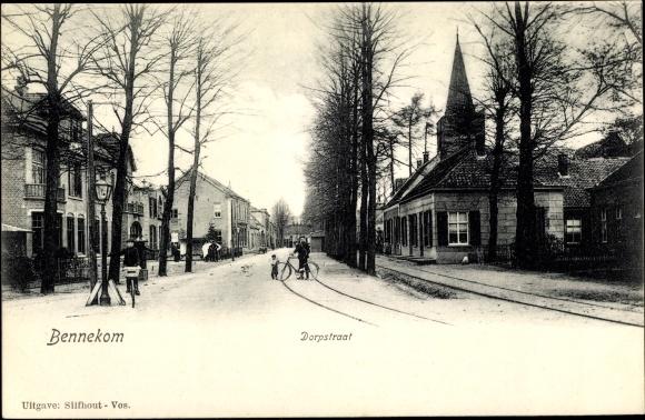 Ak Bennekom Gelderland, Dorpstraat 0