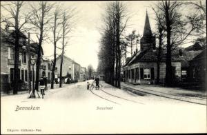 Ak Bennekom Gelderland, Dorpstraat