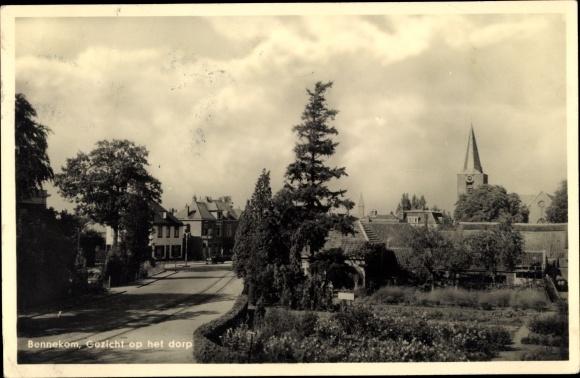 Ak Bennekom Gelderland, Gezicht op het dorp 0