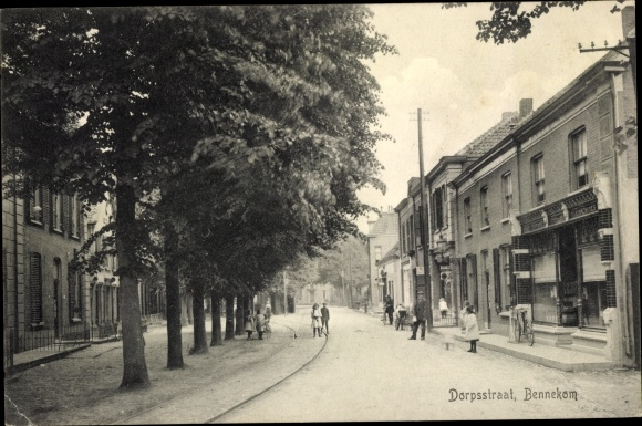 Ak Bennekom Gelderland, Dorpsstraat 0