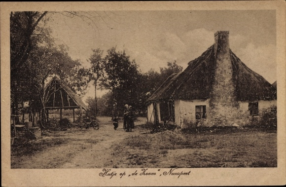 Ak Nunspeet Gelderland, Hutje op de Zoom 0