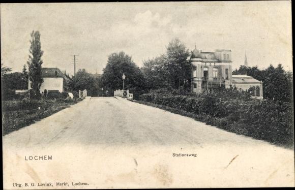 Ak Lochem Gelderland, Stationsweg 0